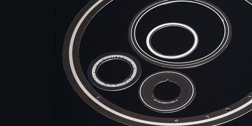 Reflective aluminum discs
