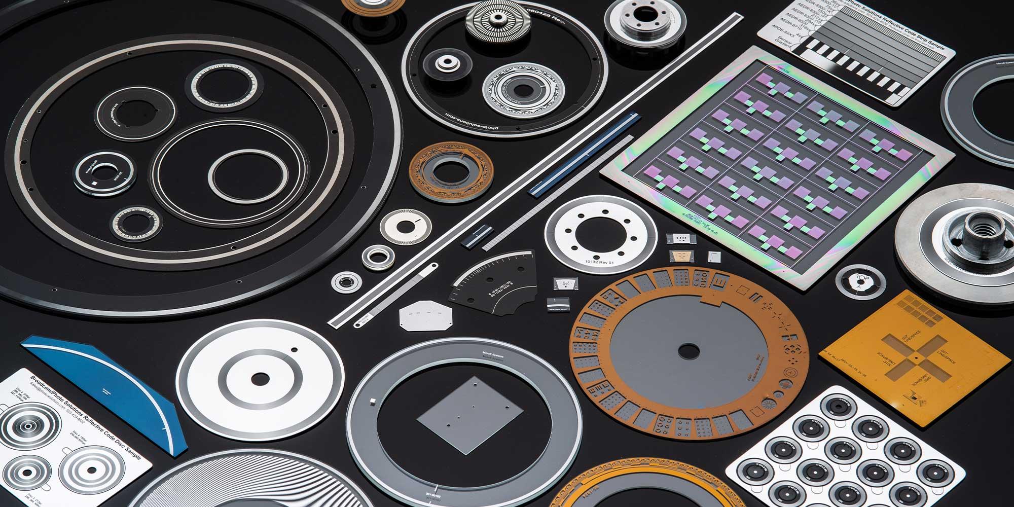 hub and disc assemblies; photonic engineering